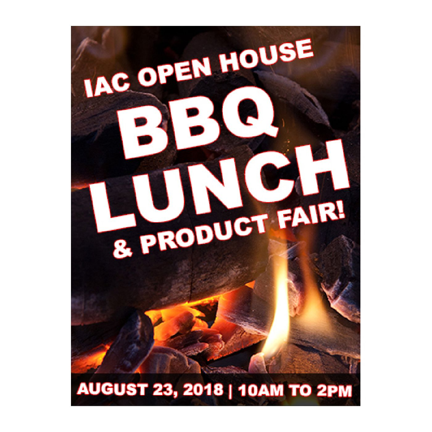 Picture Of BBQ Lunch Brochure