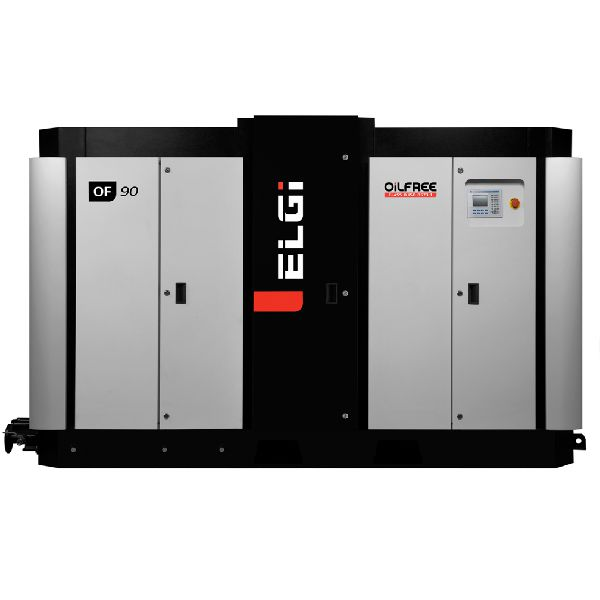 Picture Of Elgi Oil Free Rotary Screw Air Compressor