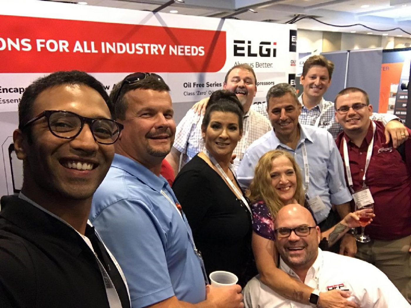 Picture Of Elgi Company Staff