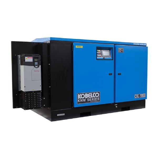 Picture Of Kobelco Oil Free Rotary Screw Air Compressor