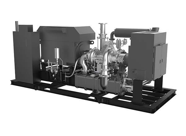 Picture Of Industiral Air Compressor